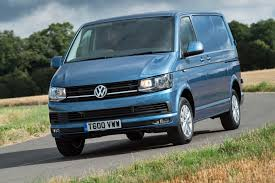 vw minivan vw launches petrol powered transporter tsi models in the uk parkers