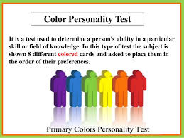 color personality test mysecretpotential com color personality test