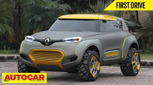 renault india renault kwid concept first drive autocar india youtube