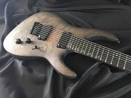 fanned fret 7 string legator ninja 300 pro fanned fret 7 string 2016 trans black reverb