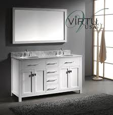 Bathroom Vanities Maryland Virtu Usa Caroline 59 9 Inch Contemporary Bathroom Vanity