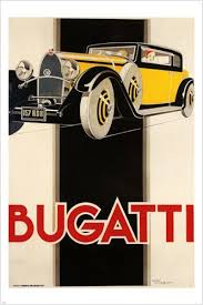 amazon com vintage 1920 u0027s bugatti poster 24x36 classic sports car