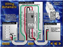 fantastic spa gfci breaker wiring diagram pictures inspiration