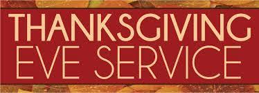 thanksgiving servicekwhi