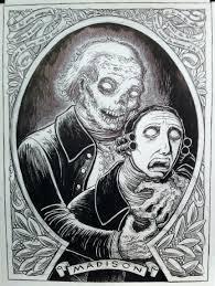 non lovecraft sketch mwf zombie james madison mockman com