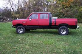 Ram Dodge Pickups 1981 93 Crew Cab Short Bed Pics Dodge Diesel Diesel Truck Resource Forums