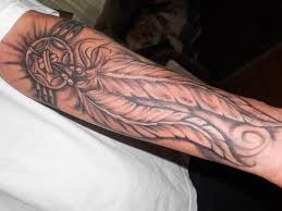 native american feather tattoo meanings native american warrior