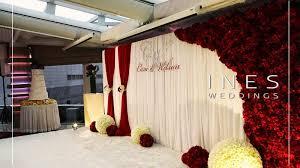 wedding backdrop hong kong renaissance hong kong harbour view hotel 彙整 ines weddings event