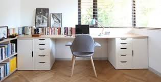 grand bureau ikea desk with working areas home workspace