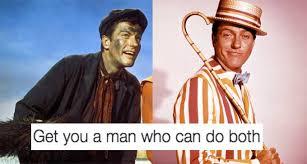 Mary Poppins Meme - 11 disney men that can do both popbuzz
