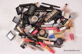 Used Makeup Vanity Makeup Declutter And Purge Avenue Nineteen