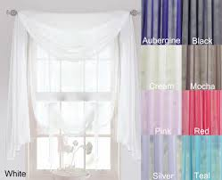 Washing Voile Curtains Voile Curtain Panels Scarf Pink Curtains Direct 2u