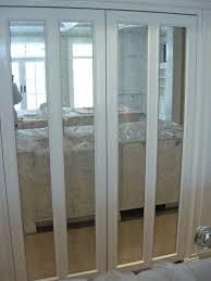 Closet Doors Canada Mirror Bifold Closet Doors Canada Best Folding Closet Doors