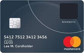 credit card apps for android mastercard introduces a credit card with a built in fingerprint