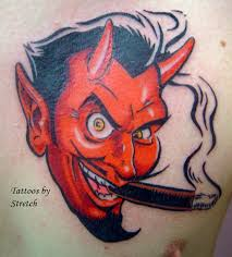 coop devil by stretch tattoonow