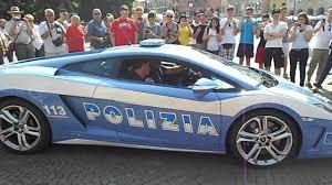 police lamborghini lamborghini police car italy youtube