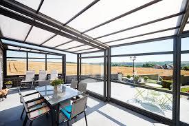 Veranda Pour Terrasse Véranda Rétractable Pour Profiter De Votre Terrasse Malgré L U0027hiver