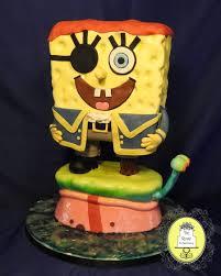 spongebob birthday cake pirate spongebob birthday cake cakecentral