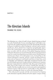 Aleutian Islands Map 3 The Aleutian Islands Framing The Issues Risk Of Vessel