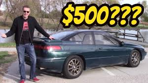 subaru svx for sale i bought the cheapest subaru svx in the usa youtube