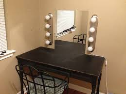 Diy Makeup Vanity With Lights Stylish Vanity Mirror With Lights For Bedroom And Diy Makeup