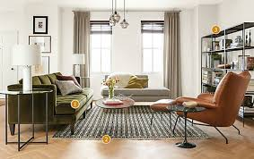 beautiful living room furniture hutton sofa room with paris chair in leather modern living room