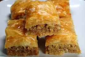 cuisine libanaise recette la cuisine libanaise et recette de baklawa à la pâte phyllo filo