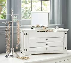 Pottery Barn Jewelry Stand Ultimate Extra Large Jewelry Box Pottery Barn