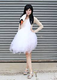 swan dress bjork swan dress costume tutorial a beautiful mess