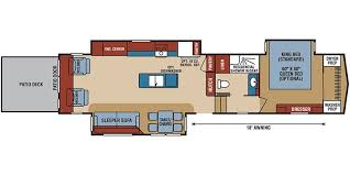 durango 5th wheel floor plans 2018 kz durangogold g371rlt jpg