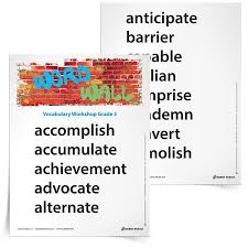 5th grade vocabulary worksheets printables and resources