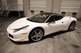 Ferrari 458 Black And White - matte white u0026 black ferrari 458 car wrap fort lauderdale florida