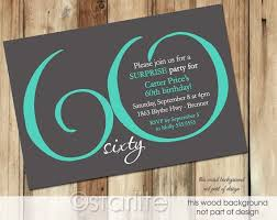16 best 60th birthday invitation ideas images on pinterest