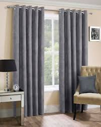 lined bedroom curtains ready made silver faux suede ring top eyelet ready made lined curtains for