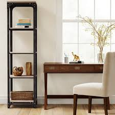 Target Narrow Bookcase 72 Franklin 5 Shelf Narrow Bookcase Gray Threshold Target