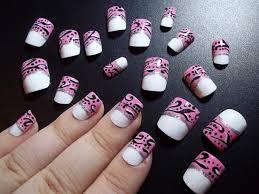 elegant pink french nails nail art gallery