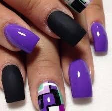 33 simple purple nail designs stylepics