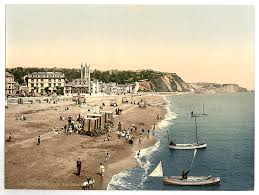 the beach teignmouth england between ca 1890 and ca 1900