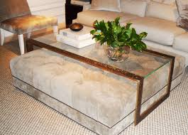 sofa small storage ottoman rustic coffee table distressed wood