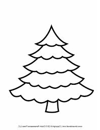 a drawing of a christmas tree simple black and white christmas