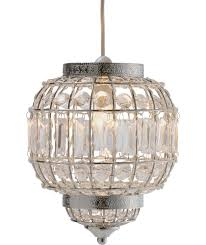 buy heart of house kasbah pendant light clear at argos co uk