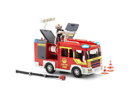fire engine with lights and sound 5363 playmobil latvia