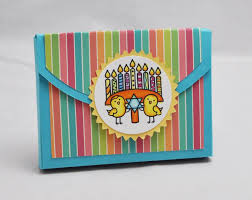 hanukkah gift cards with happy hanukkah gift card holder