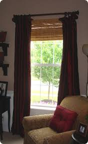 Bamboo Curtains For Windows Bamboo Or Blinds From Thrifty Decor