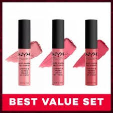 Lipstik Nyx Replika nyx professional makeup butter lipstick 14 snowcone taffy lipstik