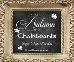 Chalkboard Love And Hope Anchors - autumn chalkboards collection life with lorelai