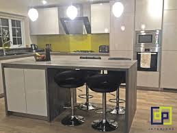 modern german kitchens contemporary design german kitchen with a pop of colour yellow