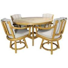 post modern italian poker game table with four swivel chairs by