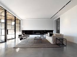 interior inspiring minimalist design with large sofa and floor