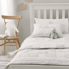 Duvet Cover Cot Bed Size Noah U0027s Ark Cot Bed Quilt Christening The White Company Us